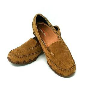 Skecher Suede Loader Shoes